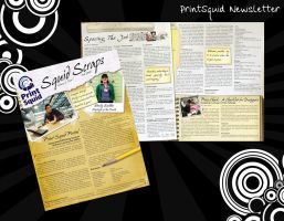 Print Squid Newsletter by rikku813