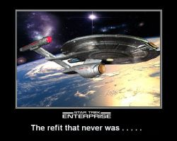 Star Trek: Enterprise - The refit that never was. by DoctorWhoOne