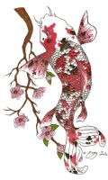 Tattoo: Koi Fish by rrela