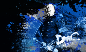 Vergil DMC wallpaper by VickyxRedfield