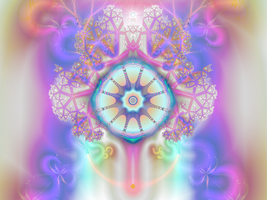 Mandala Tree of Inspiration by catelee2u