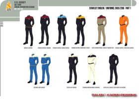 Starfleet Uniform Concepts 2 by Galen82