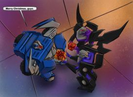 Vehicons DO Get Christmas Presents by The-Starhorse