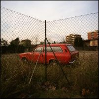 red car by g-photo