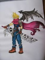Cloud FF7 by Mr-P-P-Hed