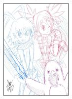 Disagaea Sketch by Pacthesis