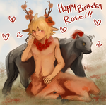 happy bday rosie!! by geag-a
