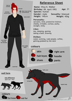 Reference Sheet - Vitus by the-gaywolf