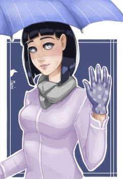 Hinata by Art-Magpie