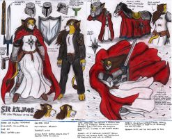 Sir Kiljaos Reference Sheet by Kiljunator