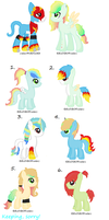 Mystery Foals Batch two! by star4567980
