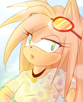 Summer lights - Amy by Klaudy-na