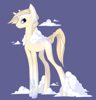 MLP Adoptable - Cumulus (SOLD) by Stickaroo