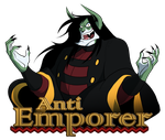 Anti Emporer - Banner Collab by peachiekeenie