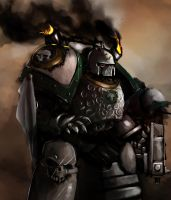 Pre-heresy Death Guard by Nalro