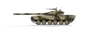 T-80K Russian Army by MacPaul