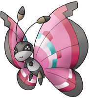 Vivillon by Cinnamon-Quails