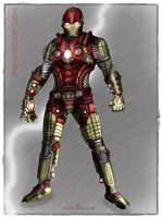 Thorbuster armour moviewerse concept design by DarthDestruktor