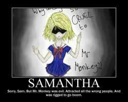 Samantha Maxis Motivational by UltimaWeapon13