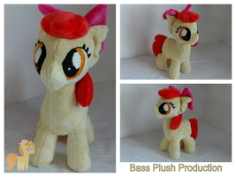 Applebloom Plushie by BassPlushProductions