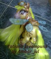 My little Steampunk Tatiana by AmbarJulieta
