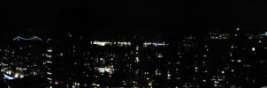 vancouver at night - Panoramic by GhostOfPardition
