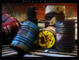 Barrels and Drums by nes1973