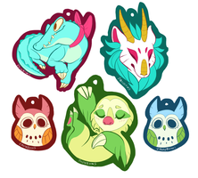 Various Animal Charms by StrawberryQuincy
