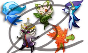 Pan Am 2015 mascots concepts by Ningeko16
