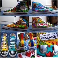 Hippie Shoes      + FINISHED + by FlyingSister