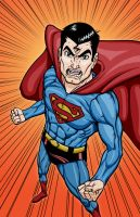 Angry Superman by Godsartist