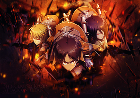 Shingeki no kyojin - Attack on TITAN by Ayanashii
