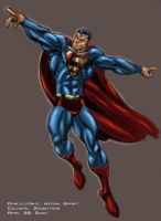 Supes in Flight by Zenzotron