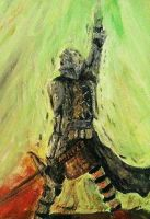 The Inquisitor (acrylics) by dragonhunter2323