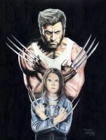 Logan and Laura by Robert-Blancas