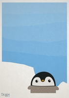 little penguin by Dese-M