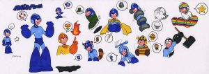Powerups for Megaman by General-RADIX