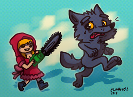 little red riding-hood 2013 by hummeri9