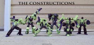 The Constructicons by Unicron9