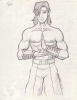 "Liu Kang ""TURKEY GOBBLE"" by Inouskei"