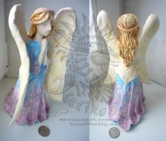 Angel sculpture by Drerika