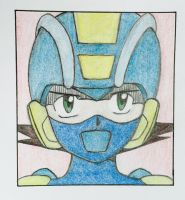 Megaman Exe by JesusFollower3