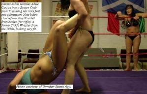Scenes from Tickle Wrestling - Dec. 2006. by RL1895