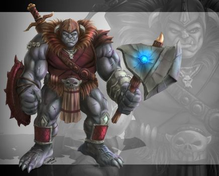 Ogre Concept Colors by robertmarzullo