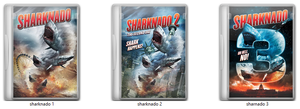 SHARKNADO COLLECTION 2013 - 2015 by RUGDVD