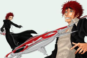 Axel vs Reno 2 by pen-gwyn