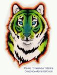 Tiger badge - AUCTION CLOSED by Crazdude