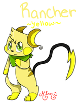 Rancher the Yellow Dyechu by MimiTheFox