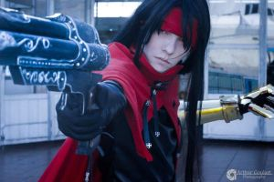 Vincent Valentine Cosplay from Final Fantasy VII by thynz