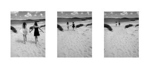 On Sandy Shores by ColourChromaticism